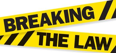 Bildresultat för breaking the law